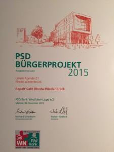 PSD_Bürgerprojekt_2015_RC_RhWd_Zertifikat