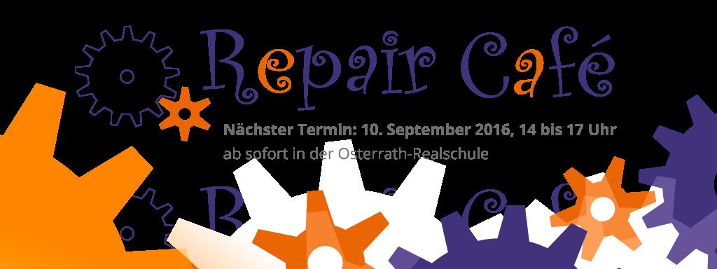 Ankündigung für das Repair Café