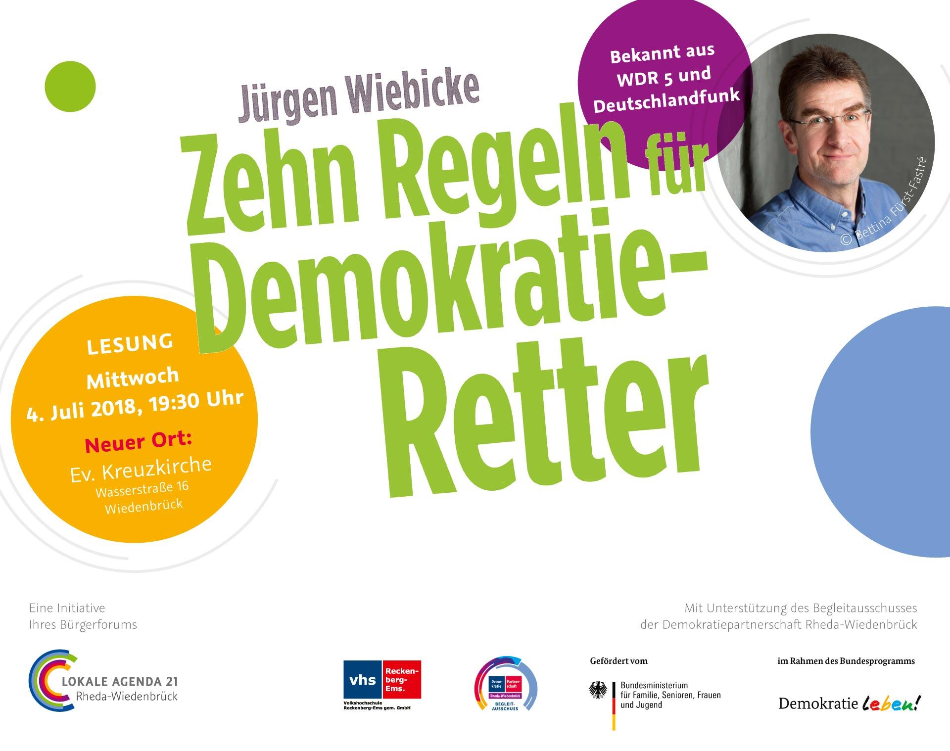 Titelbild 10 Regeln für Demokratie-Retter